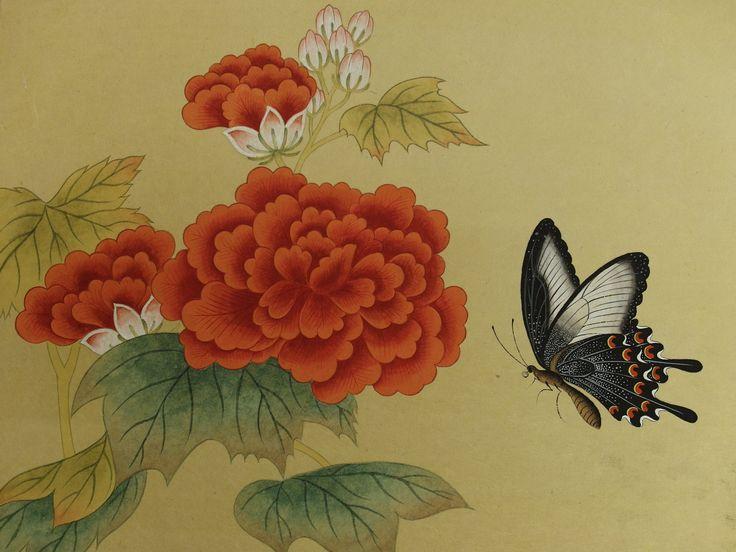 일상과 이상 :: 7. 남계우 화접도 - 나비 완성
