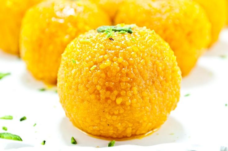 Motichoor laddu. Indian Traditional sweet. - Vishal @ Deep Yellow Media