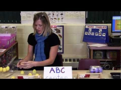 INSTRUCTION: Building Word Families: Making and Breaking Words in the ABC Center