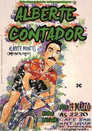 Alberte Contador @ Café Antigua - Ourense escea escena monólogo comedia humor Alberte Montes