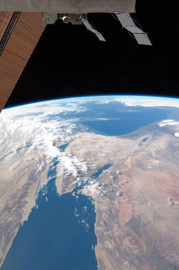 From the International Space Station: Looking at thousands of years of human history