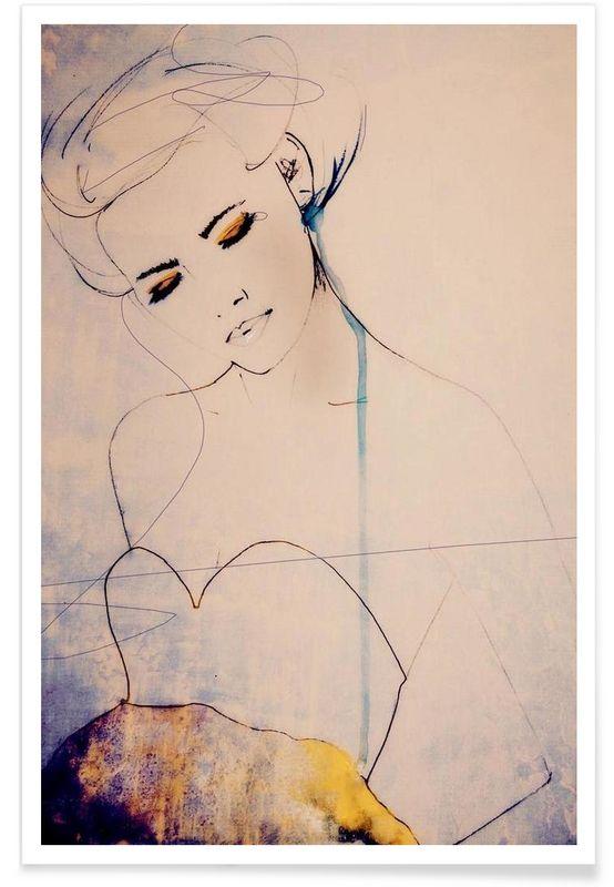 Abstractions Aside en Affiche premium par Leigh Viner | JUNIQE