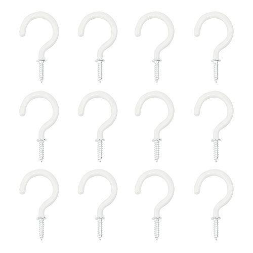 Más De  Ideas Increíbles Sobre Ceiling Hooks En Pinterest - Vinyl coated cup hooks white