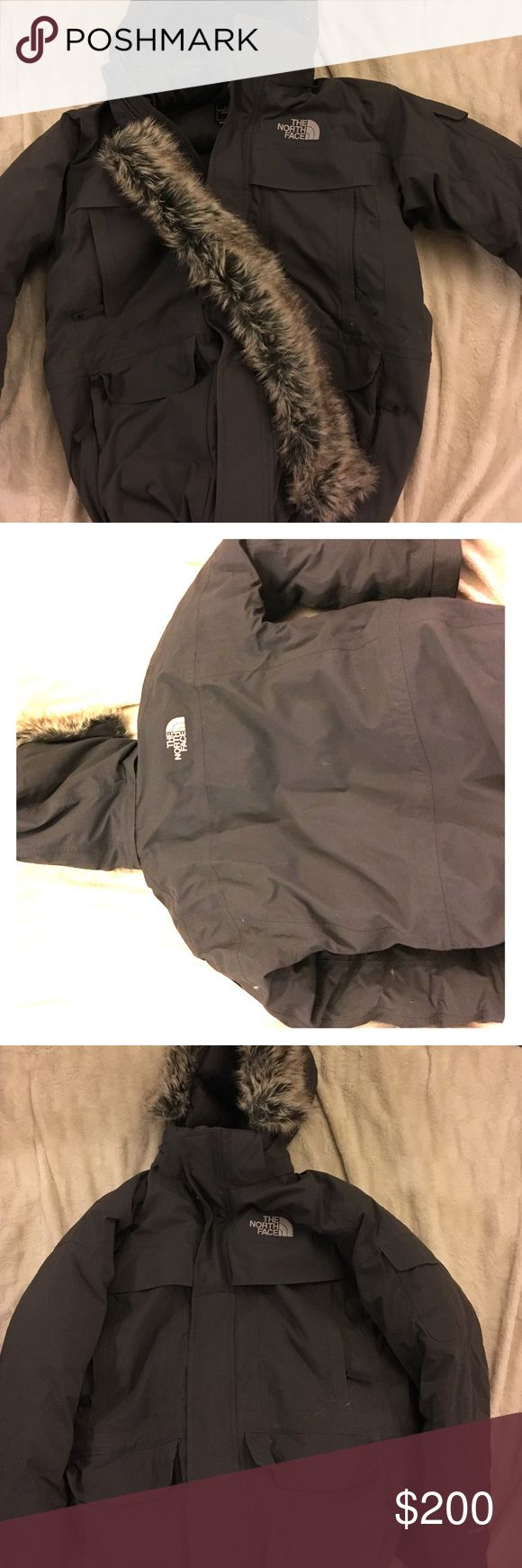 Men's North Face McMurdo Parka Men's North Face McMurdo Parka size large, removable fur on hood. Worn 1-2 times. Great condition. The North Face Jackets & Coats Ski & Snowboard