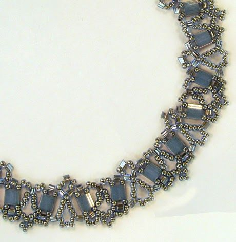 659 best Beaded Necklace Patterns images on Pinterest Beaded