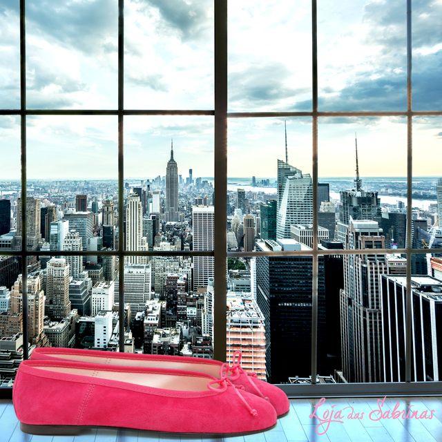 Com as nossas sabrinas tenha Manhattan aos seus pés.
