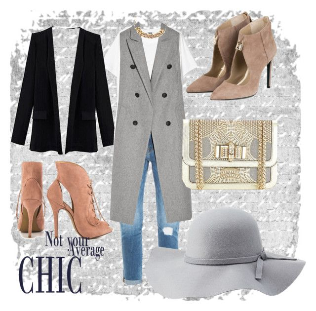"""""""Chic street style"""" by shameera86 on Polyvore featuring Frame Denim, rag & bone, Michael Kors, Chinese Laundry, Christian Louboutin and Charlotte Russe"""