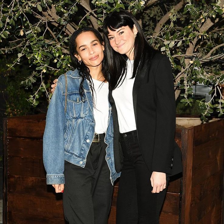 Zoe Kravitz Jennifer Lawrence Friends: Shailene Woodley And Zoë Kravitz At Bruna Papandrea's