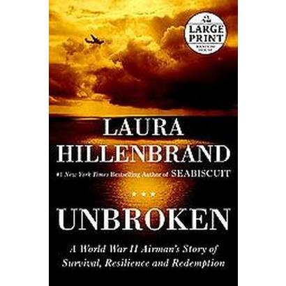 Unbroken. By Laura Hillenbrand.  Loving this book.