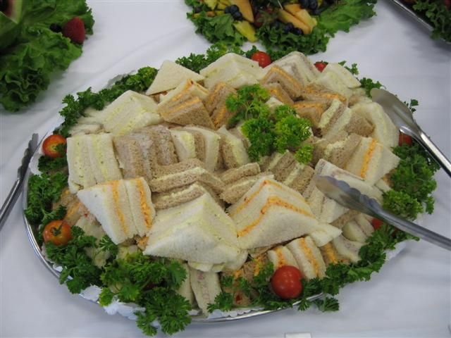 Finger Foods For Wedding Reception