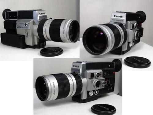 CANON 1014 electronic, Super8 Filmkamera, funktionsgeprüft, no.1777 | eBay