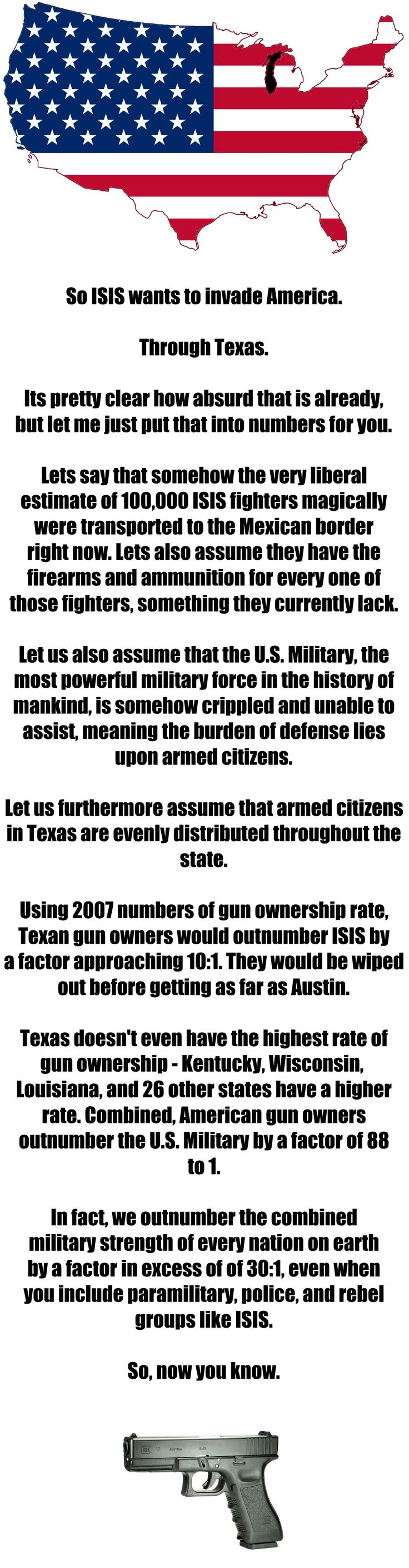 So ISIS wants to invade, do they?
