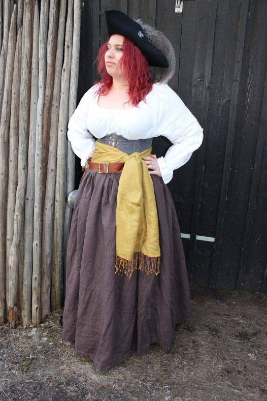 Pirate-outfit, Medeltidsveckan 2017 | made by AffeGlass  Quatermaster of the pirate crue The Bastards, often seen drinking rum in Visby, Gotland during Pirateweek/medievalweek