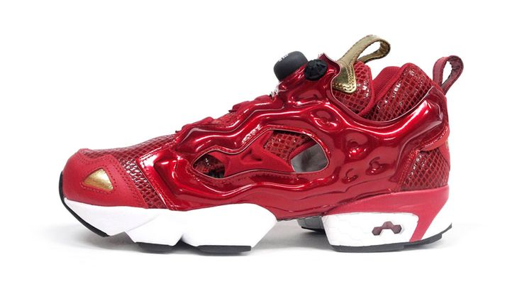 Reebok INSTA PUMP FURY 「YEAR OF THE SNAKE」 RED/GLD/BLK/WHT