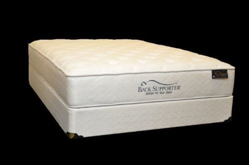 Spring Air 1802 33M Back Supporter Caressable Twin Size Mattress by Spring Air. $506.25. Size: Twin.. Foam Encased Wireless Edge with Three Zones of Support to provide you with 20% more sleeping surface. Softness Level: 5.. Type: Plush.. Collection: Caressable.. Spring Air Back Supporter Caressable Twin Mattress. Collection: Caressable. Size: Twin. Type: Plush. Softness Level: 5. Foam Encased Wireless Edge with Three Zones of Support to provide you with 20% more...
