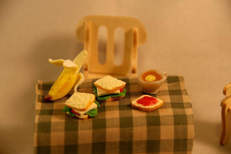 Sandwiches - polymer clay