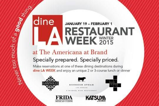 dineLA Restaurant Week Winter 2015 Enjoying dining at Frida Restaurant Americana from January 19 to February 01.  To reserve table : http://www.fridaamericana.com/fine-mexican-dining-reservation-glendale/