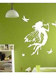 blomst fairy vegg klistremerker