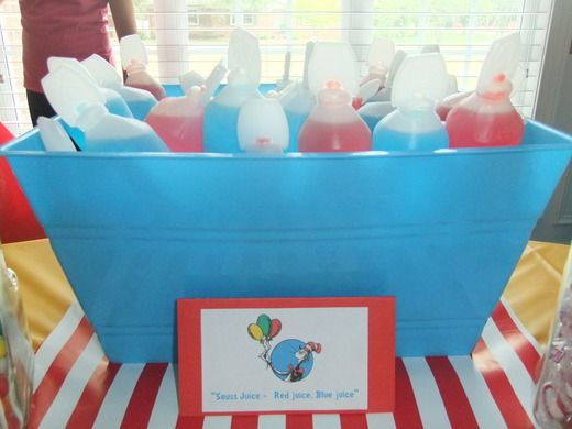 First Birthday/Dr. Seuss Birthday Party Ideas | Photo 3 of 23 | Catch My Party