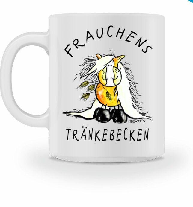 Frauchens Trinknapf Haflinger I Tasse Tassen Kaffeetassen Und