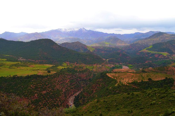 Het Rifgebergte in Marokko. #rifgebergte #marokko