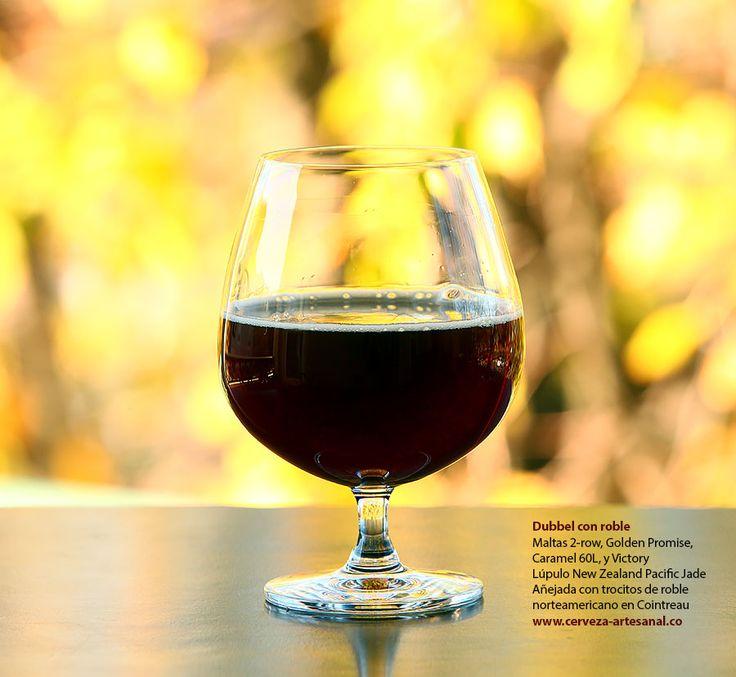 Dubbel no tradicional; maltas 2-row, Golden Promise, Caramel 60L, Victory; Lúpulo New Zealand Pacific Jade | Cómo hacer cerveza artesanal en casa