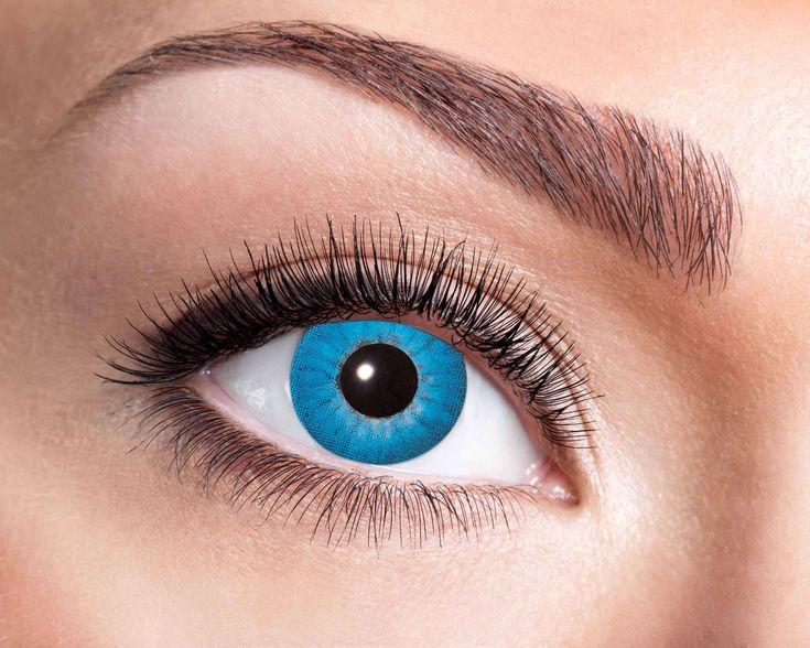 Blaue 3 Monatslinse in 2020 | Grüne augen, Kontaktlinsen