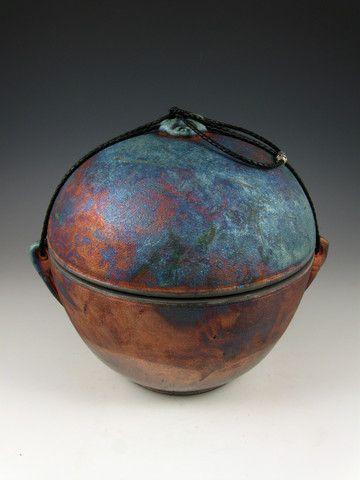 Raku Urns for Ashes | Spirit Orb Individual Size Raku Style Cremation Urn for Ashes