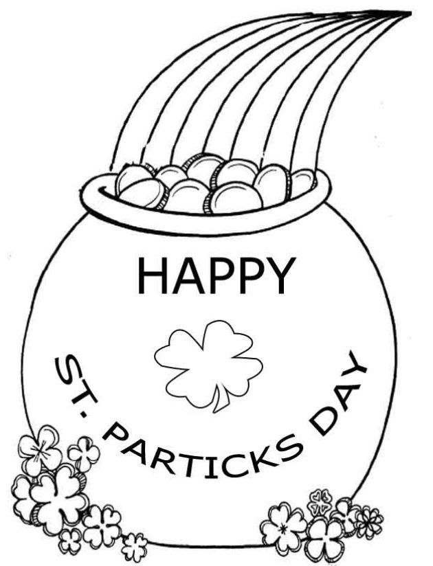 Pin By Nancy King On Coloring Pages In 2020 St Patricks Day Crafts For Kids St Patrick S Day Crafts Coloring Pages Inspirational