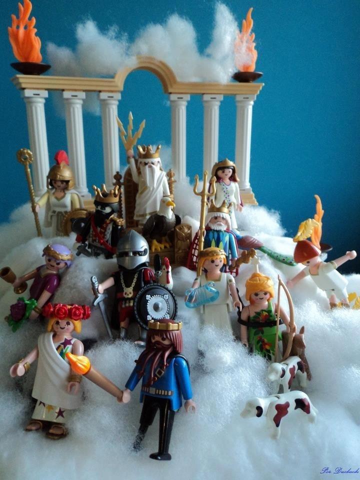 Playmobil dioses Griegos... Geniales!!