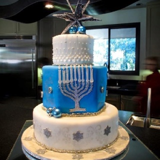 jewish wedding cake ideas 73 best images about hanukkah cookies cakes ideas on 16598