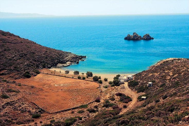 Agios Georgios beach in Sikinos island, Greece - selected by www.oiamansion.com