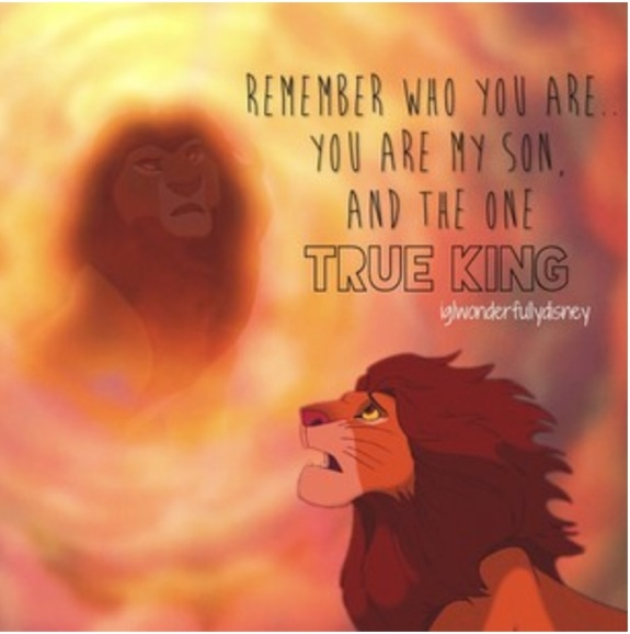 The Best Remember Who You Are Quotes Lion King Good Quotes