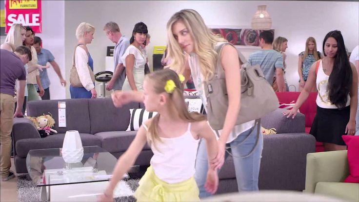 Lees Models Linda in Fantastic Furniture TVC