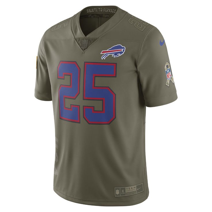 Nike NFL Bills Limited STS (LeSean McCoy) Men's Football Jersey Size Medium (Olive)