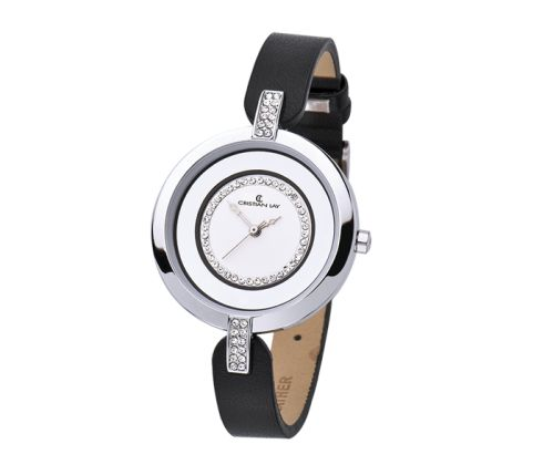 Reloj con caja de aleación metálica y correa de poliuretano. - Cristian Lay www.cristianlay.com