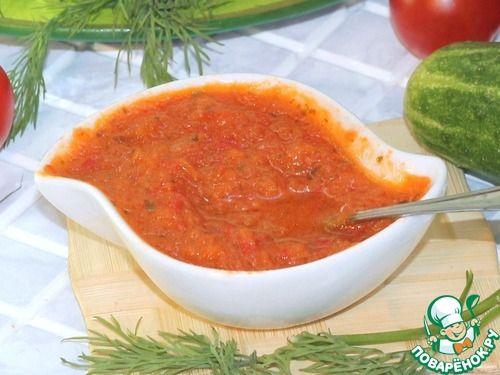 """Домашний соус """"Табаско"""" - кулинарный рецепт"""