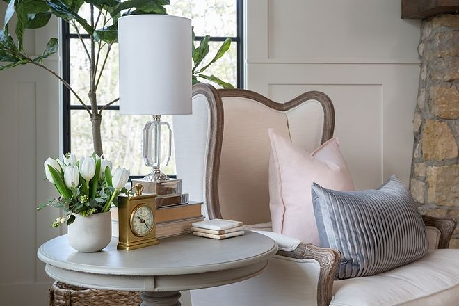 accent table decor living room side
