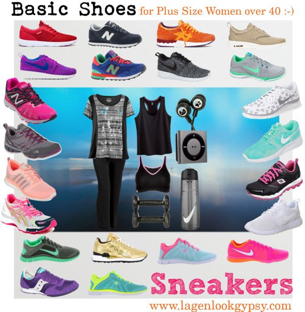 Basic Shoes for Plus Sizes over 40 - Sneakers