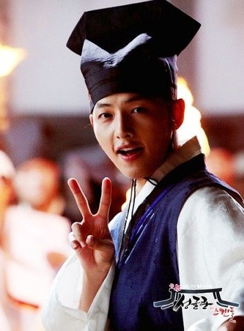 Song Joong Ki...Sungkyunkwan Scandal