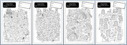 Labyrinthe, motricité fine, autonomie, cp, Ce1, Cycle 2, dixmois, graphisme, espace