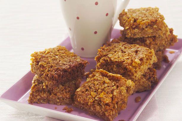 Ginger oat flapjacks recipe - goodtoknow