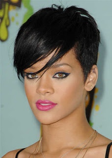 Brilliant 1000 Images About Rihanna Short Hairstyles On Pinterest Hair Short Hairstyles Gunalazisus