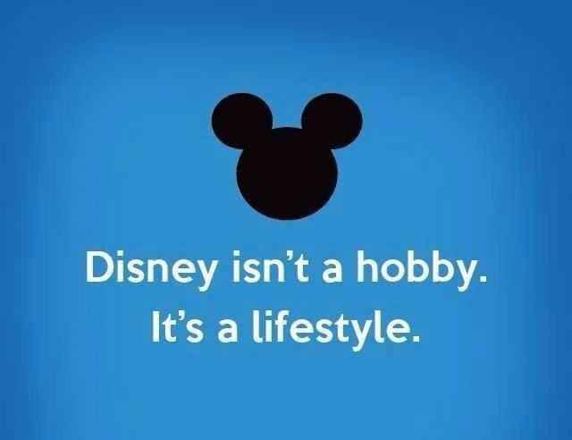 Basically...it is my lifestyle