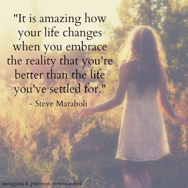 "Life Amazing: ""It Is Amazing How Your Life Changes When You Embrace The"