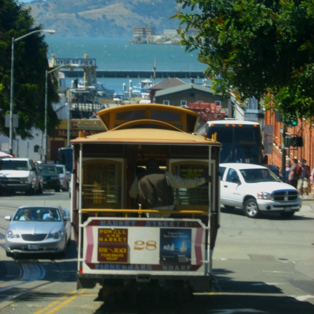 Rode on San Fran trolley