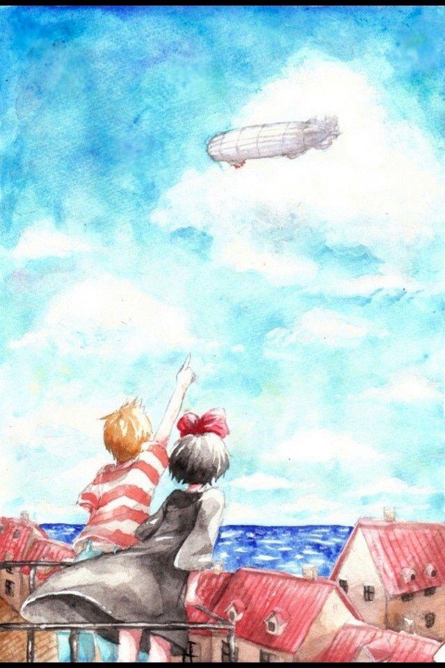 【人気57位】魔女の宅急便 | ジブリのスマホ壁紙 | iPhone壁紙ギャラリー