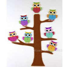 50Pcs 34mm Owl Buttons Mixed Wood Buttons Sewing Scrapbooking Animal Shaped 2 Holes 7NK23(China (Mainland))