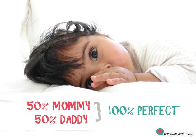 """""""100 percent - cute and short pregnancy quote and cute quote to announce pregnancy."""""""