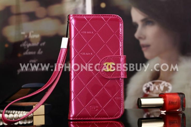 chanel iphone 6 Case Designs leather Cover red